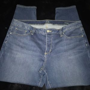 a.n.a blue skinny ankle jeans plus size 18